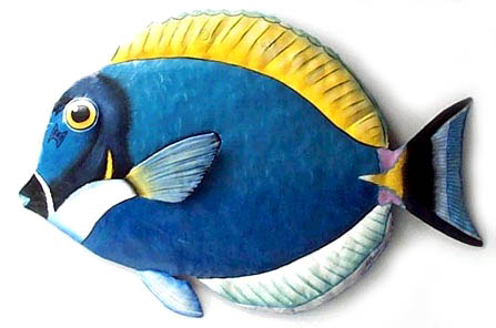 metal fish art wall decor.htm tropical fish metal art  haitian steel drum art  handcrafted  tropical fish metal art  haitian steel